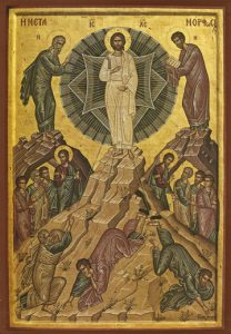 Icon of the Transfiguration of the Lord – F48