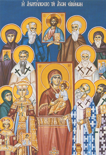 Icon of the Restoration of the Holy Icons – F52