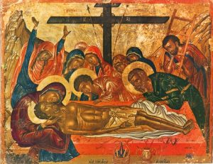 Icon of the Epitaphios – F54