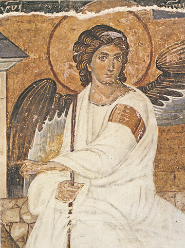 Icon of the White Angel (Detail of F36) – F59