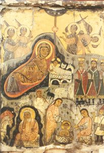 Icon of the Nativity of the Lord – F66