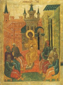 Icon of Christ in the Temple at the Age of 12 – F69