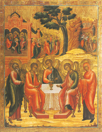 Icon of the Holy Trinity – F71