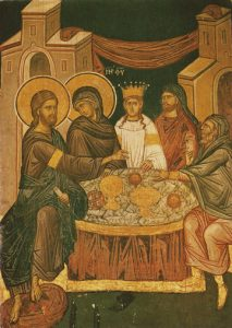 Icon of the Wedding at Cana – F73