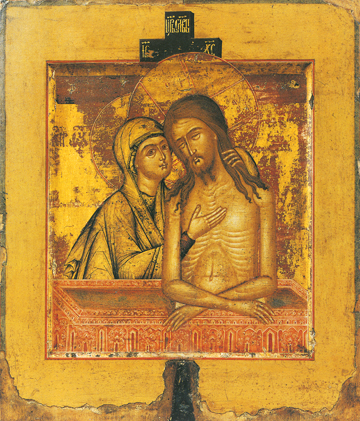 "Icon of ""Do Not Lament Me, O Mother"" – F79"
