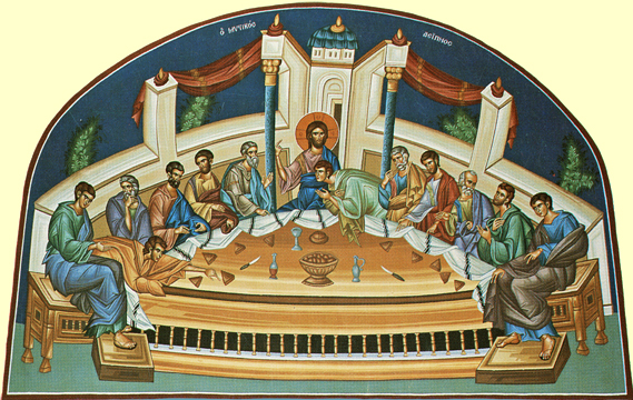 Icon of the Mystical Supper – F82