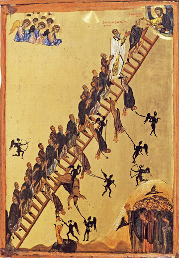 Icon of the Ladder of Divine Ascent – F88