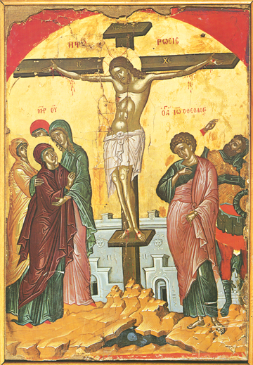 Icon of the Crucifixion – F08