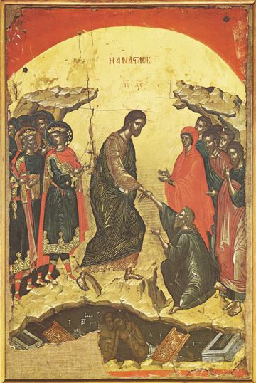 Icon of the Resurrection – F09