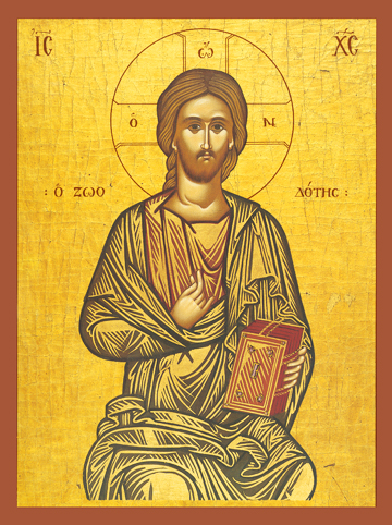 "Icon of Christ ""The Life-Giver"" – J14"