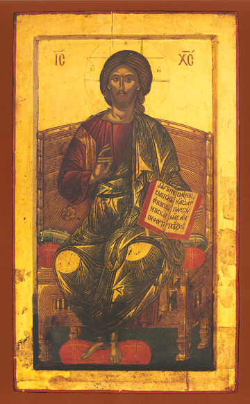 Icon of Christ Enthroned – J15
