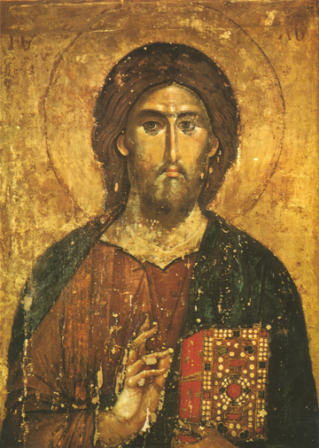 Icon of Pantocrator - J23