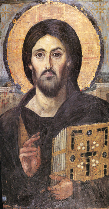 Icon of the Pantocrator (Sinai) – J24