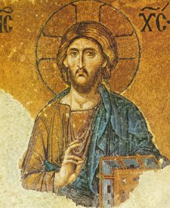 Icon of the Mosaic Pantocrator – J30