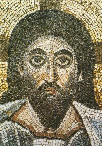 Icon of the Mosaic Face of Christ (Detail) – J34