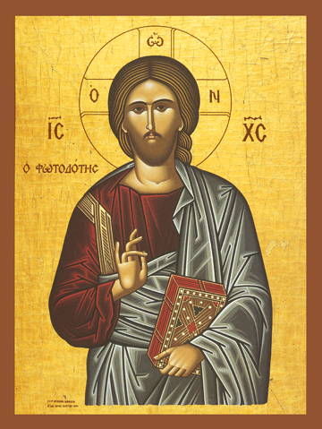 "Icon of Christ ""The Light-Giver"" – J36"