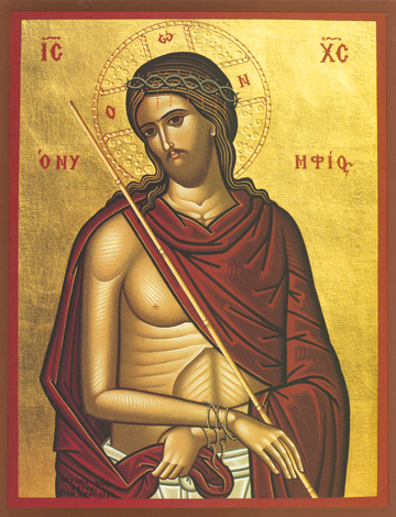 "Icon of the Nymphios (""Bridegroom"") – J37"