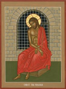 Icon of Christ the Prisoner – J03
