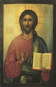 Icon of the Pantocrator – J40