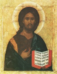 Icon of Christ the Saviour – J04