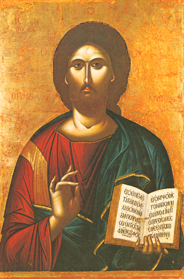 Icon of Christ Pantocrator – J56
