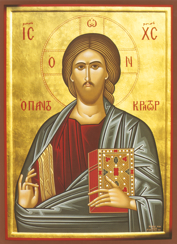 Icon of Christ Pantocrator – J62