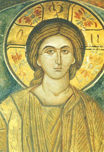 Icon of Christ Pantocrator at a Young Age – J65