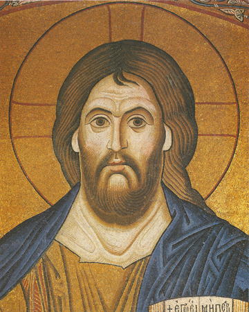 Icon of the Pantocrator (Mosaic) - J68