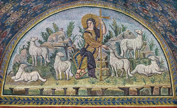 Icon of the Good Shepherd (Mosaic) – J69