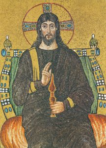 Icon of Christ the Redeemer Enthroned – J71
