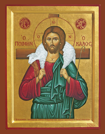 Icon of the Good Shepherd – J75