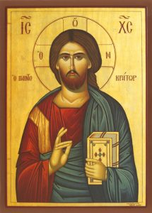 Icon of Christ Pantocrator – J76