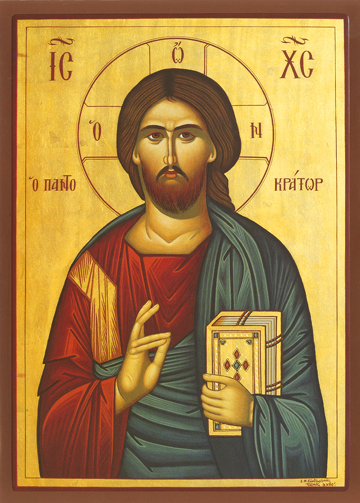 Icon of Christ Pantocrator – J76