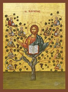 "Icon of Christ ""The True Vine"" – J79"