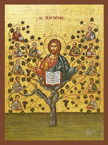 "Icon of Christ ""The True Vine"" – J79"
