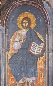 Icon of Christ Enthroned – J86