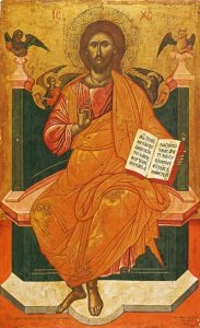 Christ Enthroned – J09