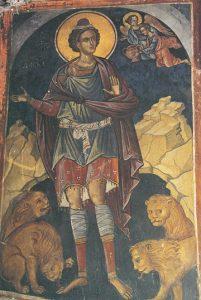 Icon of Daniel the Prophet in the Lion's Den – P71