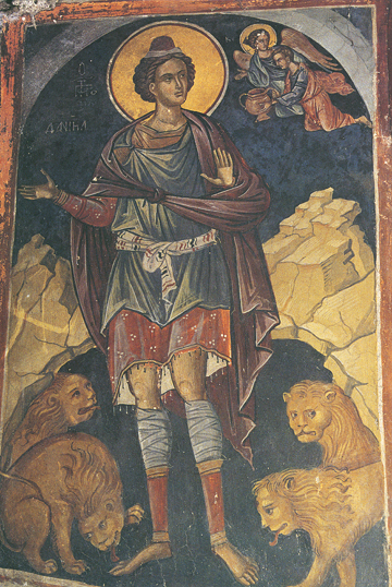 Icon of Daniel the Prophet in the Lion's Den – P71