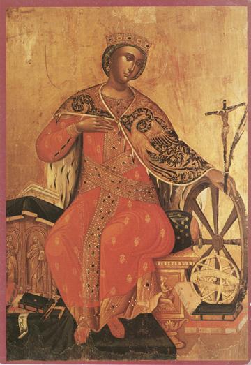 Icon of St. Catherine – S112