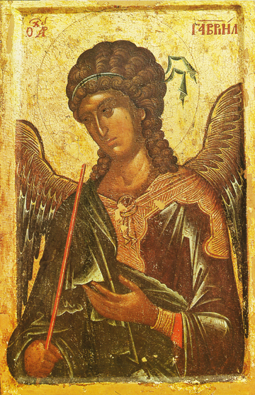 Icon of Gabriel, Archangel – S119