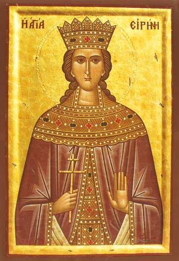 Icon of St. Irene the Great Martyr – S127