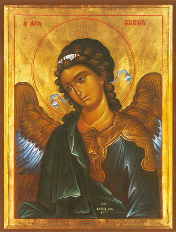 Icon of Gabriel, Archangel – S13