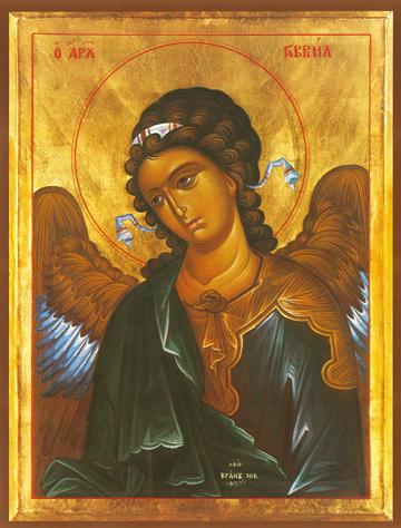 Icon of Gabriel, Archangel – S13