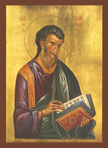 Icon of St. Matthew the Evangelist – S146