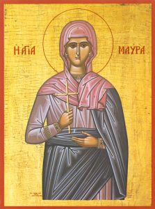 Icon of St. Maura – S147