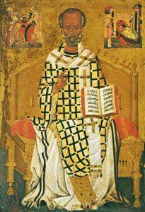 St. Nicholas Enthroned – S155