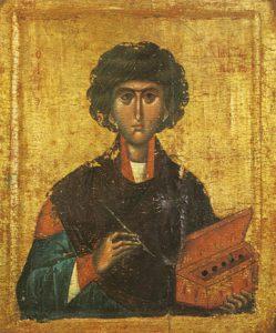 Icon of St. Panteleimon – S157