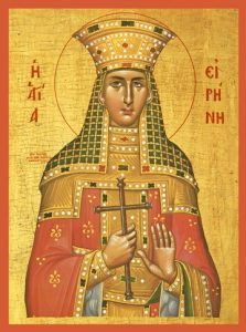 Icon of St. Irene the Great Martyr – S15