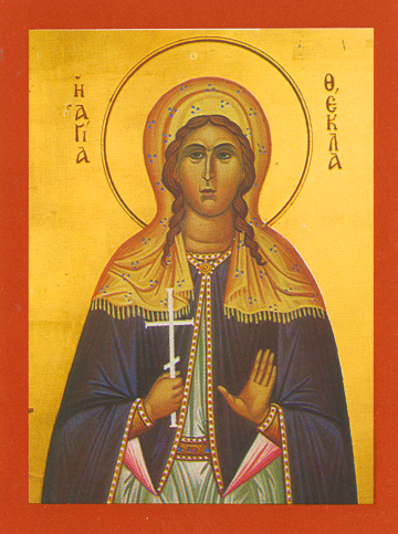 Icon of St. Thecla – S178
